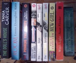 book haul January 2014