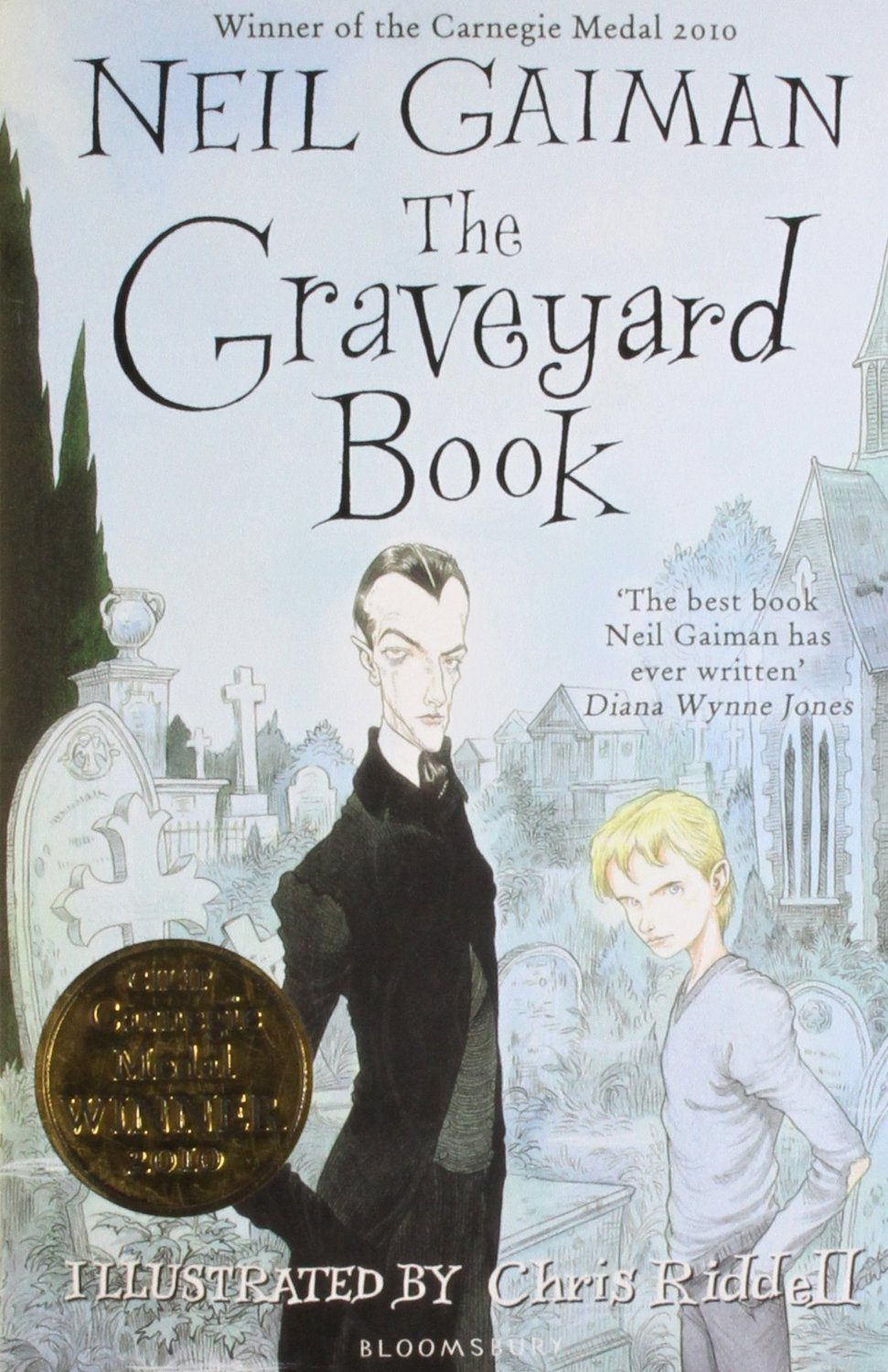 book report for the graveyard book Whistling past the graveyard is a multi-layered saga that can be enjoyed by teens and adults alike it has a cinematic quality that will make readers wish for a screen version and you can't say better than that.