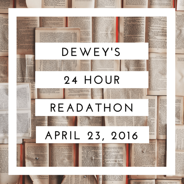 Deweys 24hr readathon april 2016